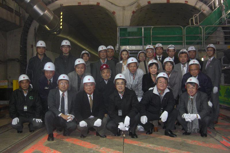 東急東横線見学会2009/12/01