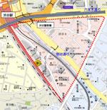 渋谷駅3丁目プロジェクトの検討区域